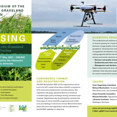 EGF-Symposium 2021 – Call for Abstracts – EXTENDED until 15 October 2020