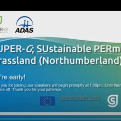 SUPER-G Northern England Farm Network Webinar