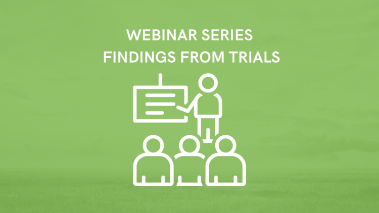 Webinar Series – Findings from the trials