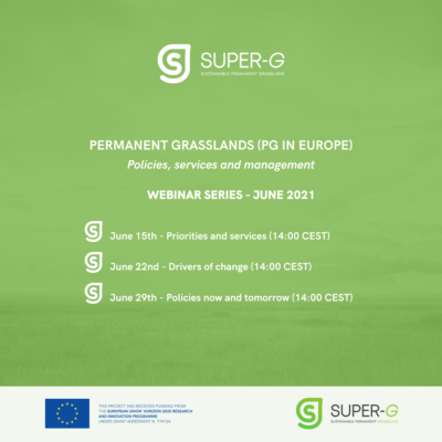 Webinar series: Permanent Grasslands in Europe – Policies, Services and Management