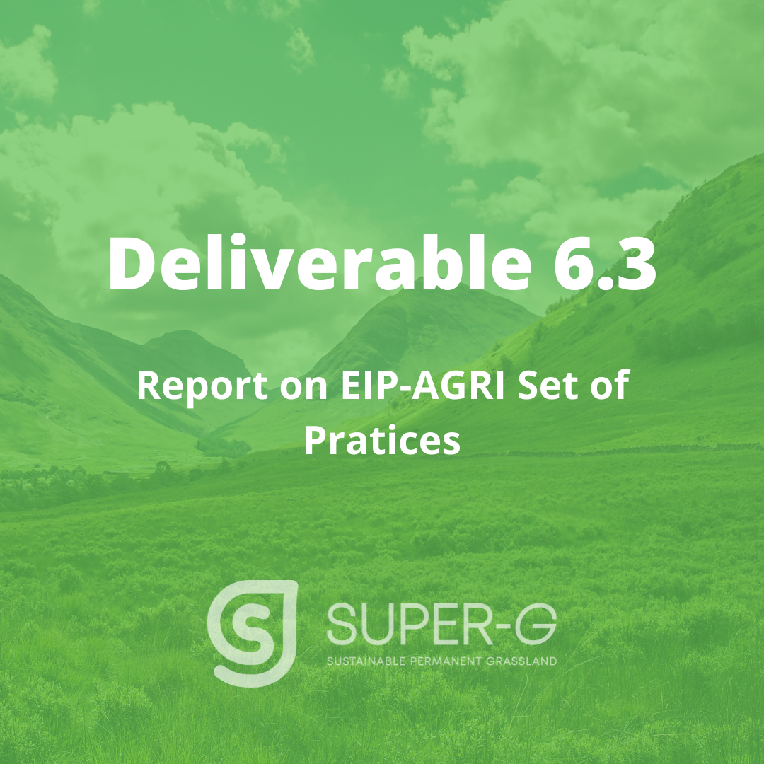 Deliverable 6.3 Report on EIP-AGRI Set of Pratices