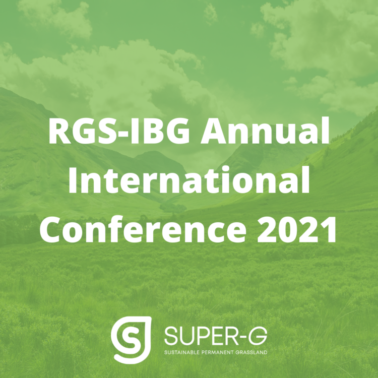 SUPER-G will participate in the RGS-IBG Annual International Conference 2021